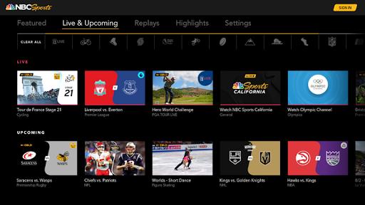 NBC Sports 1.0 screenshots 2