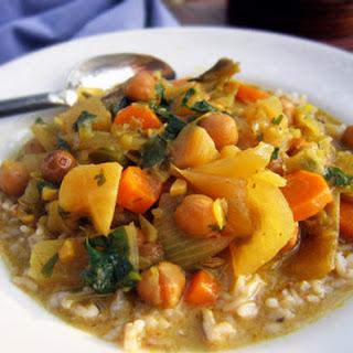 Crock Pot Curry with Coconut Milk.