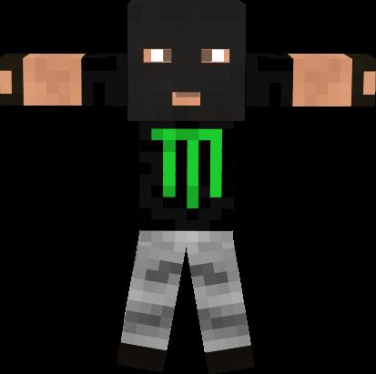 Vs Terrorista Monster Nova Skin - Monster skins fur minecraft
