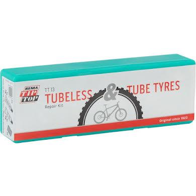 Rema TT13 Tubeless and Tube Type Tire Repair Kit - Box of 5