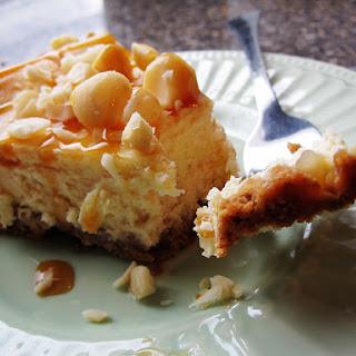 Caramel Macadamia Nut Cheesecake