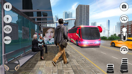 Coach Bus Simulator 2020: Modern Bus Drive 3D Game  Wallpaper 13