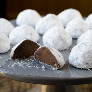 Secret Kiss Snowball Cookies
