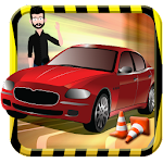 Crazy City Driver 3D Icon