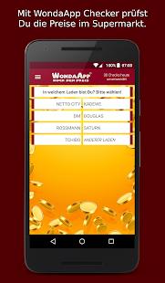 WondaApp Checker: Rock die Preise im Supermarkt - náhled