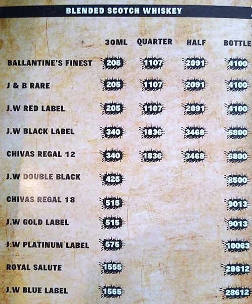 Tales & Spirits menu 9