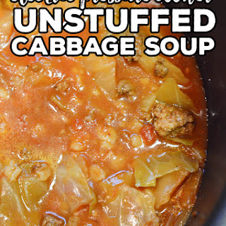 Unstuffed Cabbage Soup- Electric Pressure Cooker Recipe