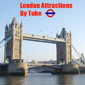 London Tube with Attractions