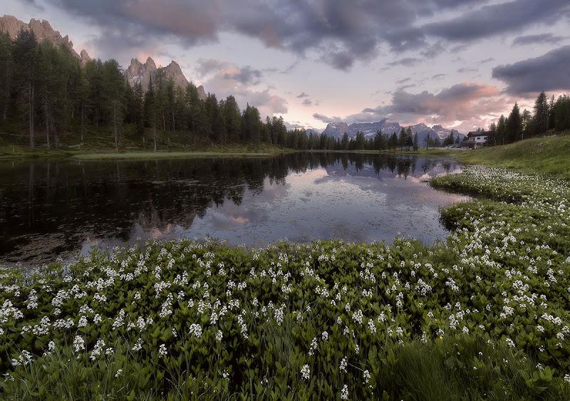Primavera al lago d'Antorno di edidf