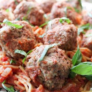 One-Pot Slow-Cooker Spaghetti and Meatballs.