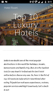 Top 10 Hotel India - náhled