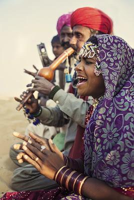 Musicisti nel deserto del Thar di Jackass1991