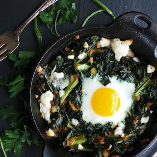 Baked Breakfast Greens.