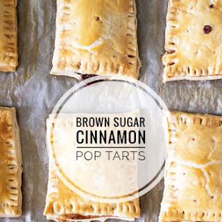 Homemade Brown Sugar Cinnamon Pop Tarts.