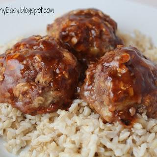 Sweet & Sour Meatballs.