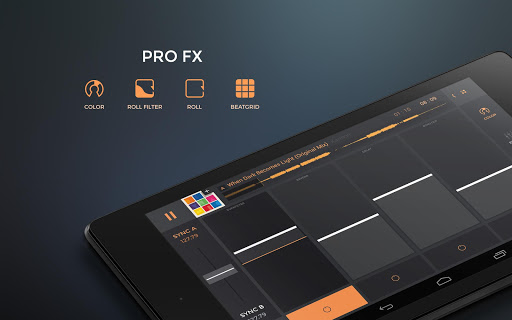 edjing PRO - Music DJ mixer for Android