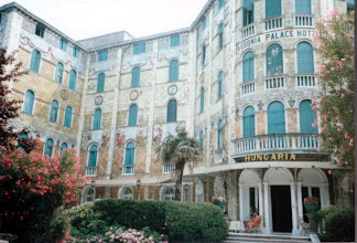 Photo: リド島 Hungaria Hotel (1986年)