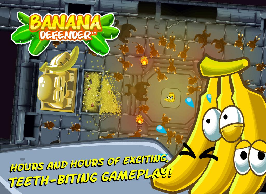 Banana Defender- screenshot