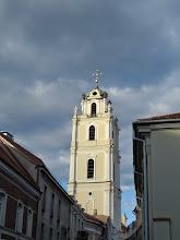 Photo: The Vilnius U bell tower
