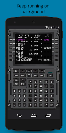 Virtual CDU 737 by Virtual Avionics (Google Play, Japan