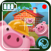 Funny Adventures Of The Three Little Pigs