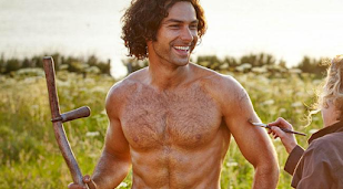 Aidan Turner won't strip in Poldark