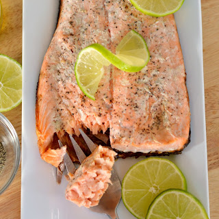 Smoked Salmon on the Grill.