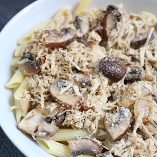 Herbed Chicken and Mushroom Skillet.