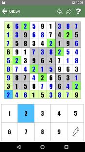 Free Sudoku - náhled
