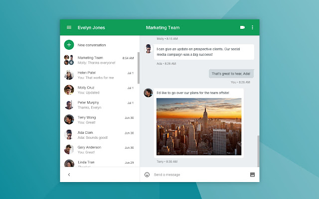 Google Hangouts - best screen sharing software