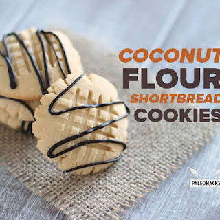 Coconut Flour Shortbread Cookies Recipes.