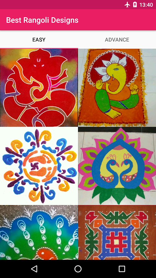 Best Rangoli Designs- screenshot