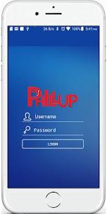 Phillup Admin - náhled