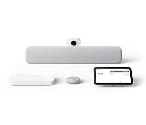 Google Meet | Lenovo Series One medium room kit - Chalk color