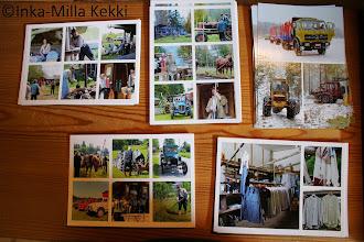 Photo: Vanha Savotta postikortit (5 erilaista korttia)