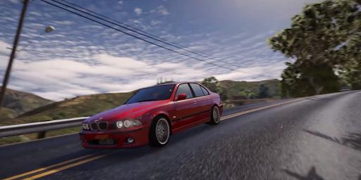 M5 E39 Driving BMW Simulator for PC