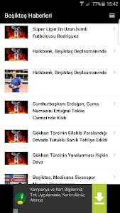 Beşiktaş Haberleri screenshot 0