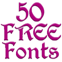 Fonts for FlipFont 50 #3 icon