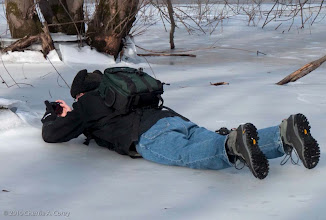 Photo: Photographing ice formations