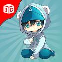B-Boy : Superhero Run Race Parkour icon