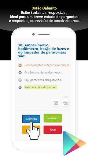 Simulado Detran São Paulo - SP screenshot 5