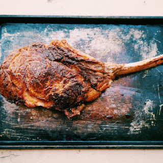Tomahawk Steak w/ Coconut Oil Compound 'Butter'