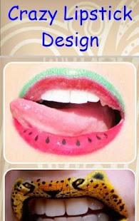 Crazy Lipstick Design - náhled