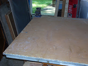 Photo: When moving from one part of a project to another cleaning up your work space is always smart. It keeps you safe and the next part of the project doesn't have to deal with the sawdust.