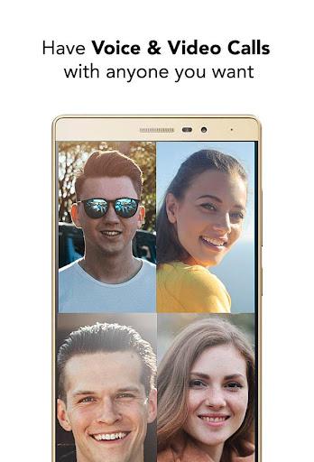 Mobile Messenger - Instant & Lite & Free Chat App 1.2 screenshots 5