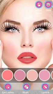 InstaBeautY Makeup Selfie screenshot