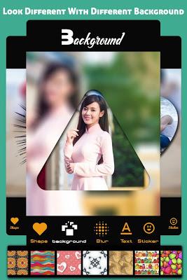 Photo Shape Collage Maker - screenshot