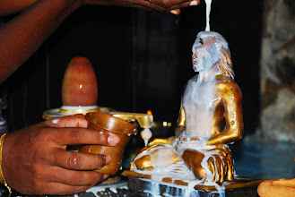 Photo: Abhisekam with Milk
