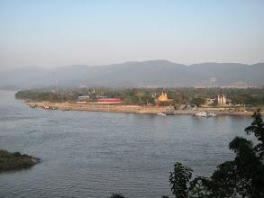 Photo: Laos side of the Mekong