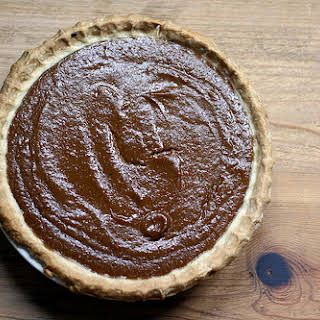 Alton Brown's Pumpkin Pie.